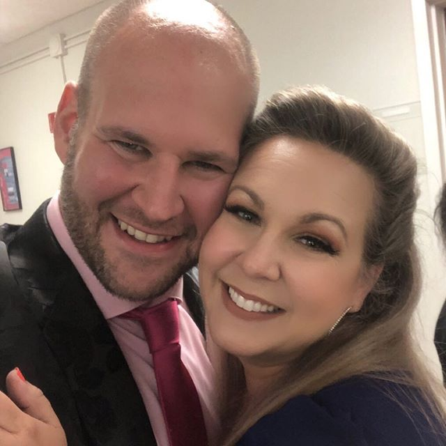 #Aïda and #Radames together forever ❤️❤️no, seriously. Lol 😉 go get your tickets now! http://www.spotlightonopera.com/phone/events.html #Aïda2019 #Spotlight2019 #welcomeconcert @tenorsimpson