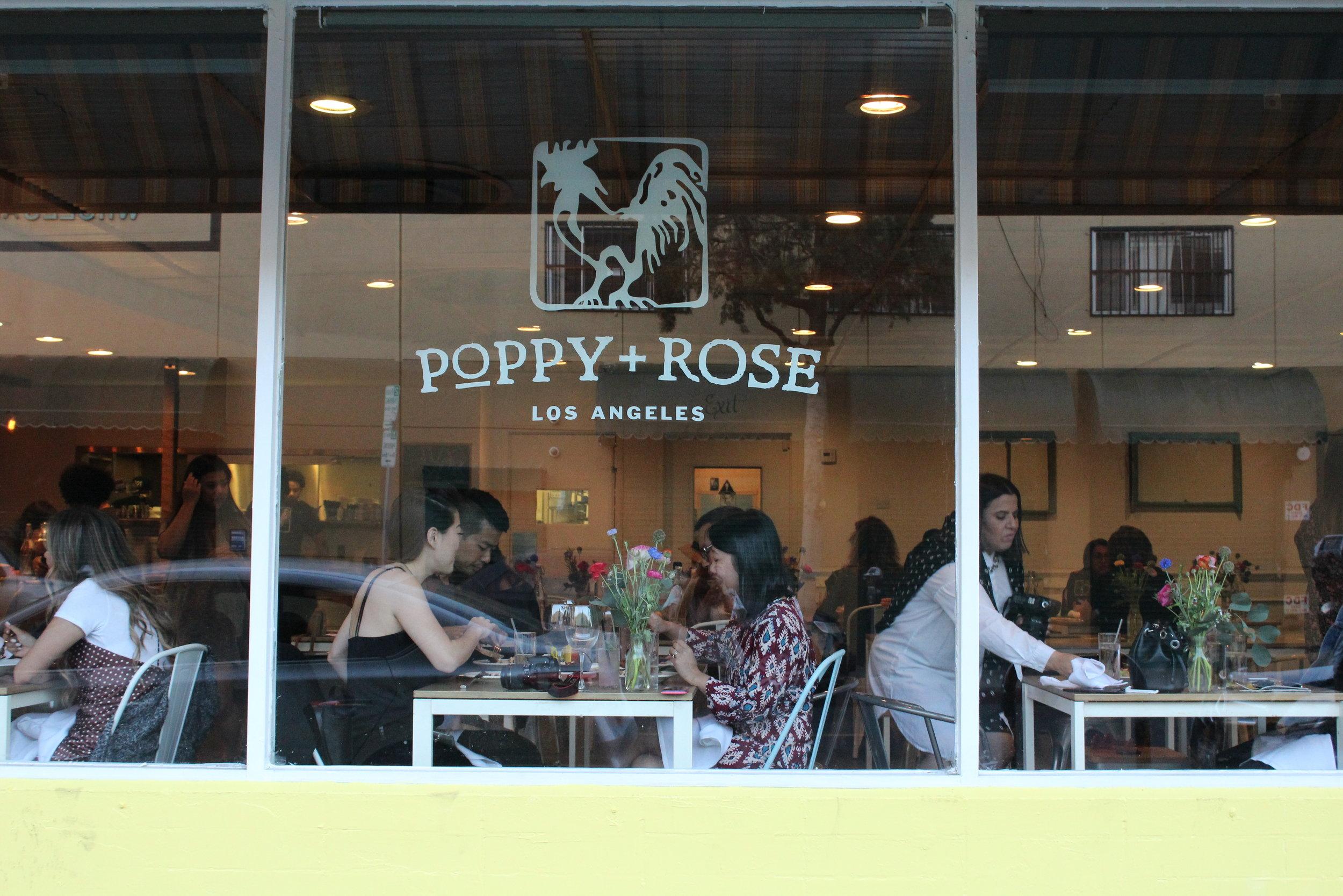Poppy + Rose Restaurant Space