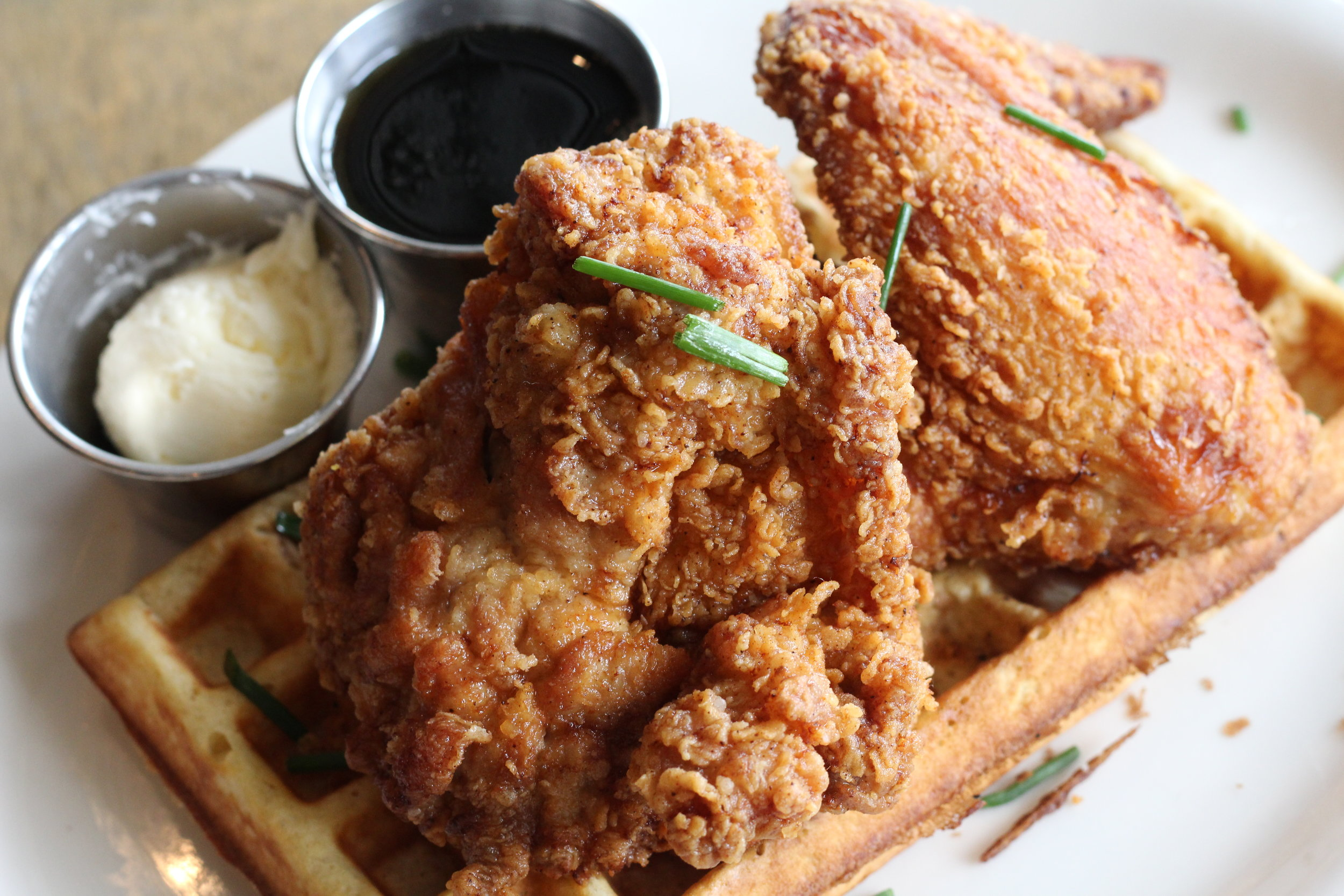 Buttermilk Fried Chicken + Waffle