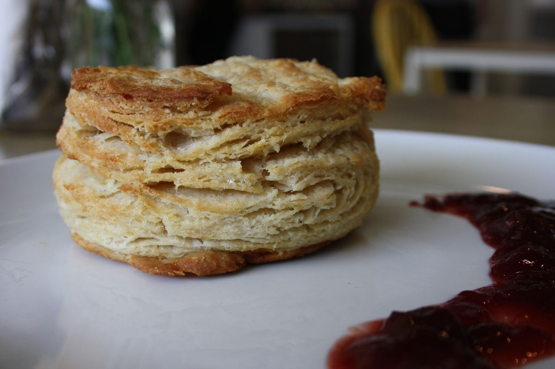 Buttermilk Biscuit + Jam