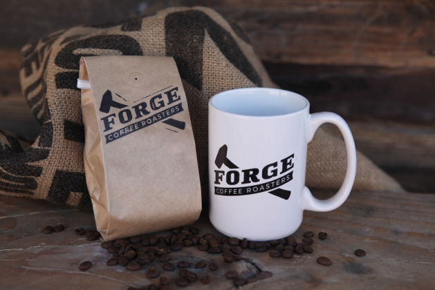 Forge Coffee Beans and Forge Mug