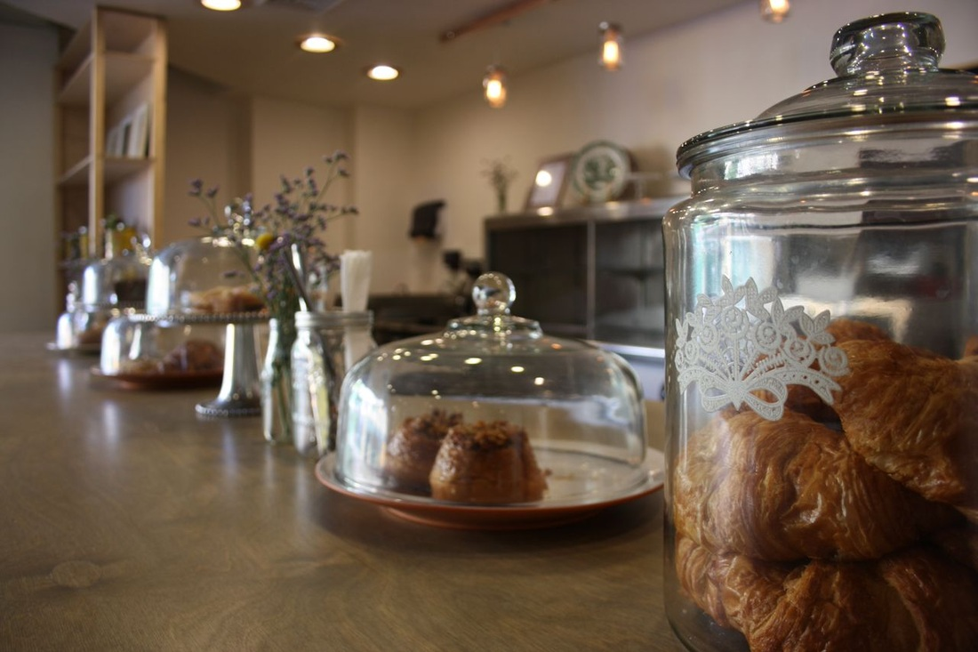 Counter Pastries