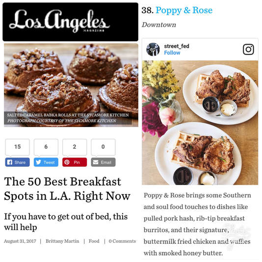 LA Mag Top 50 Breakfast Spots in LA Feature