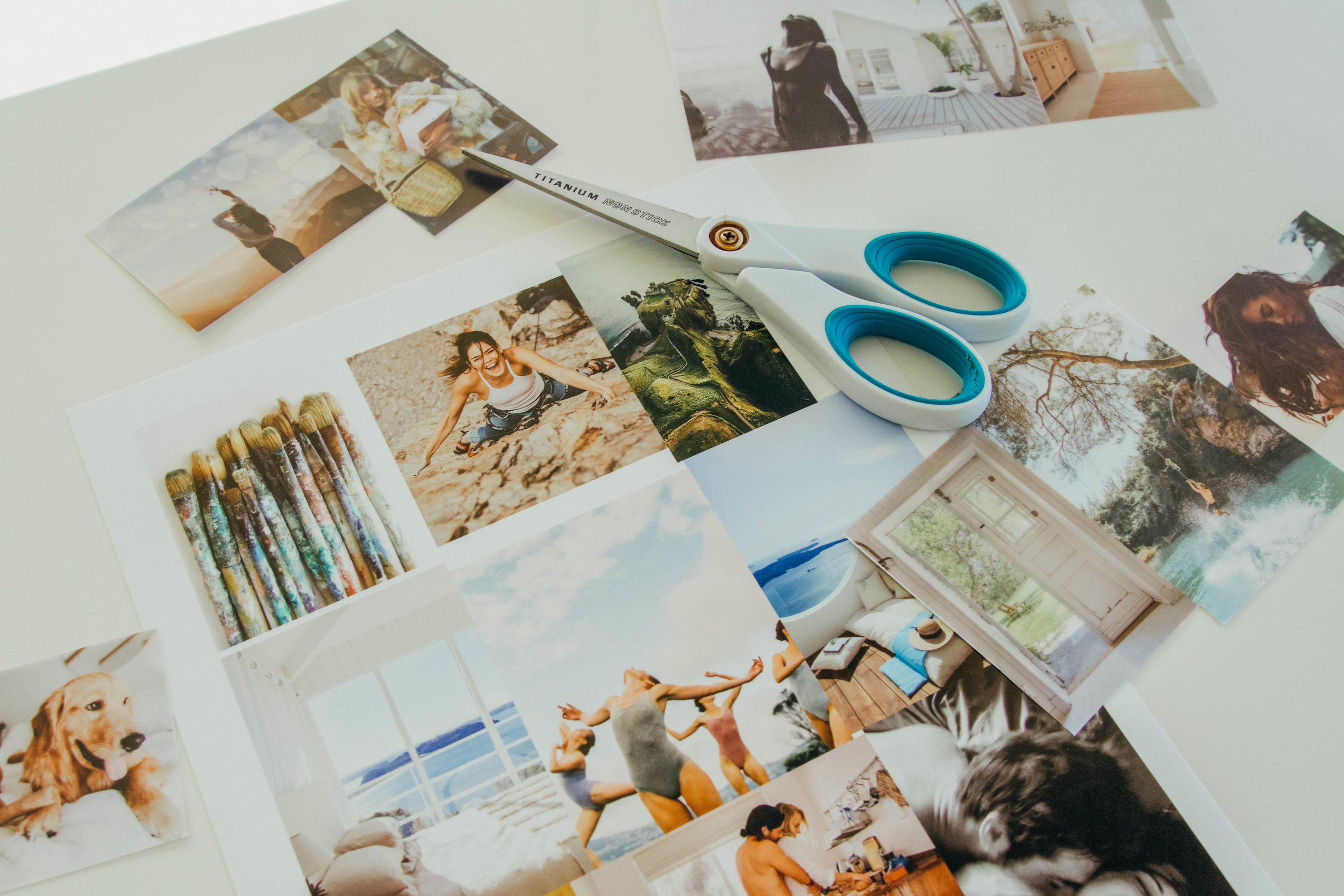 How-to Create a Vision Board || @purelylucy