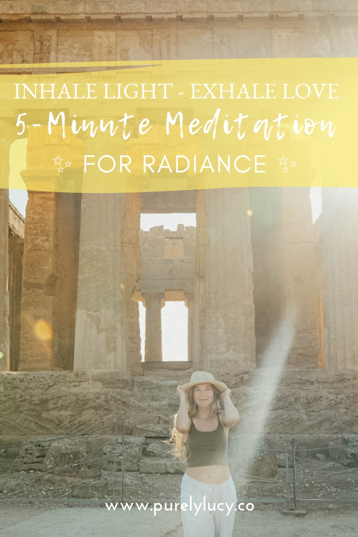 5-Minute Guided Meditation for Radiance || @purelylucy