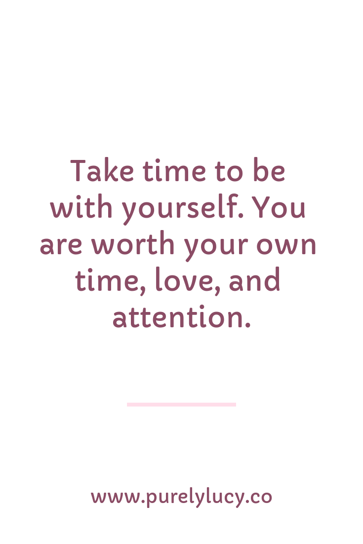 Guided Meditation for Self-Love || www.purelylucy.co