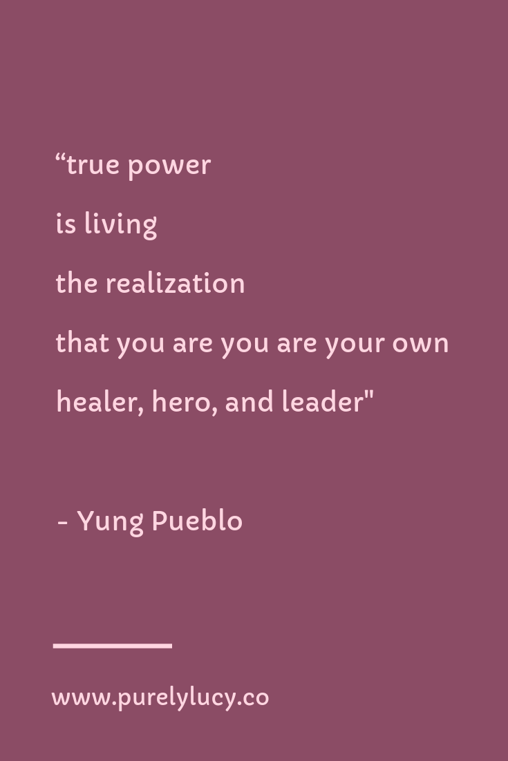 True Power || @yung_pueblo