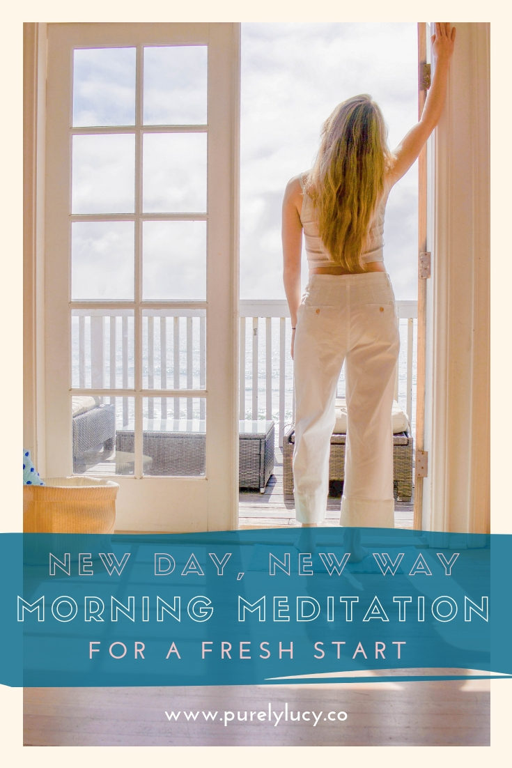 5-Minute Morning Meditation || @purelylucy