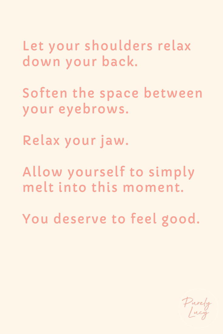 Daily Living Meditation: Soften || www.purelylucy.co