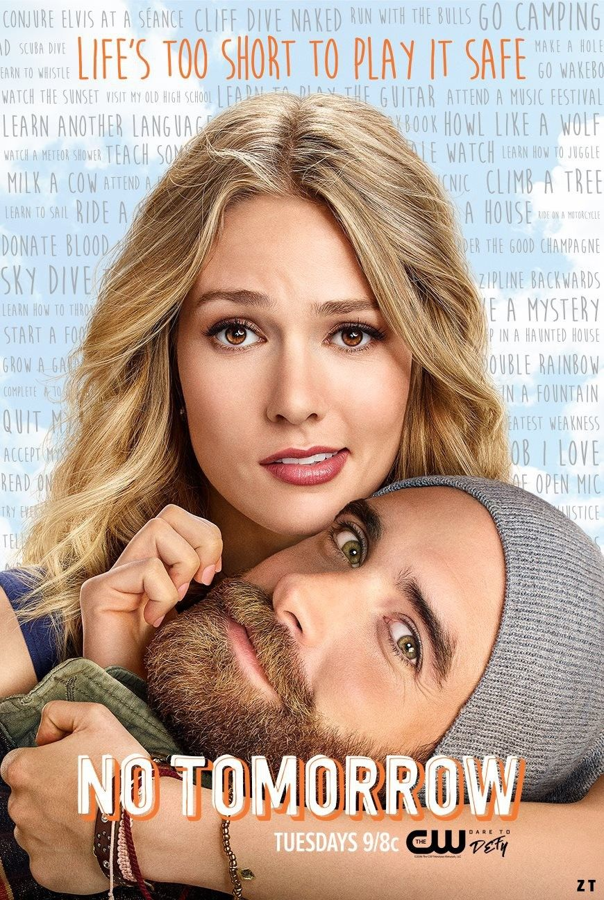 "No Tomorrow - The world is ending…or so Xavier says. This show is a funny and sweet ""end of the world"" romcom that has a light-hearted upbeat vibe and all the good feels."
