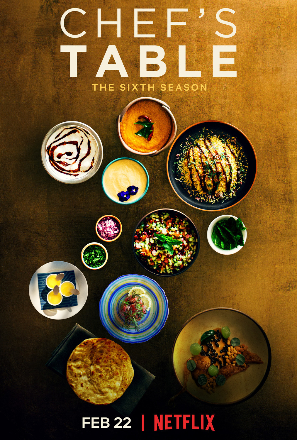 Chef's Table - A true work of cinematic and culinary art profiling some of the most creative and accomplished chefs in the world. The stories are beautiful and the food is unlike anything you've seen or tasted before! I'd love to visit every restaurant on this show one day.So far I'm 0 for 0 but HEY, a girl can d r e a m.