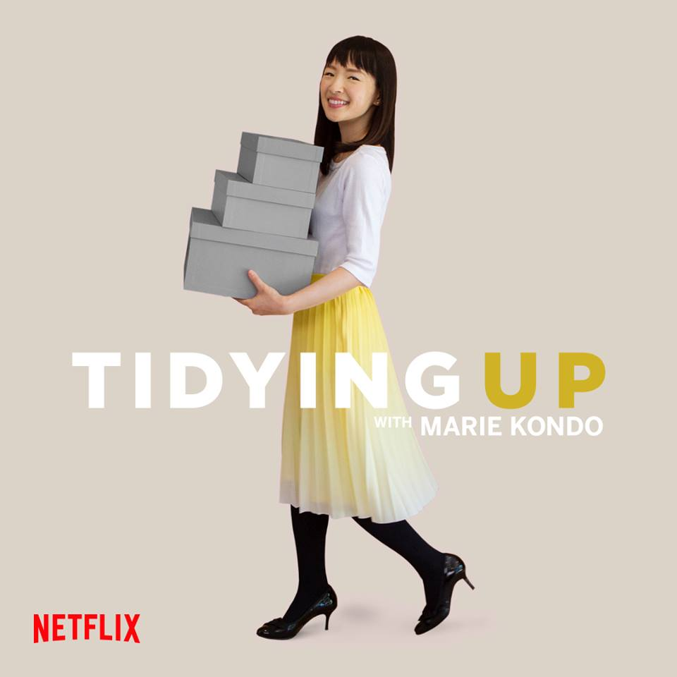 Tidying Up With Marie Kondo - Marie Kondo shares her simple yet revolutionary way of tidying your space (and life) with us in her new series based on her best-selling book. She is such a sweet light in this world and even if you're already pretty tidy, I'm sure you'll enJOY this show.
