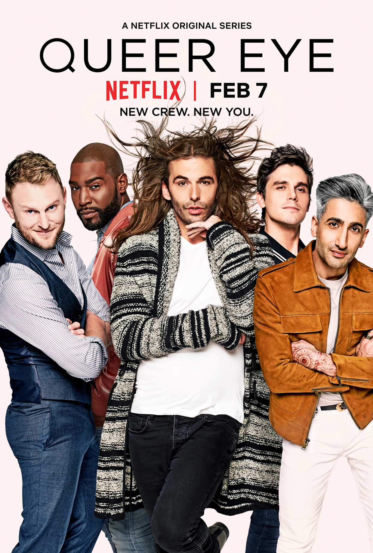 Queer Eye - Five beautiful men transforming people from blah to YAASSS. This show is succinct in its delivery and more than anything: INSPIRING (lots of happy tears incoming).It will make you want to live your best life and bring your best to every area of your life. If I had to choose one show to watch off this list, this is the one!