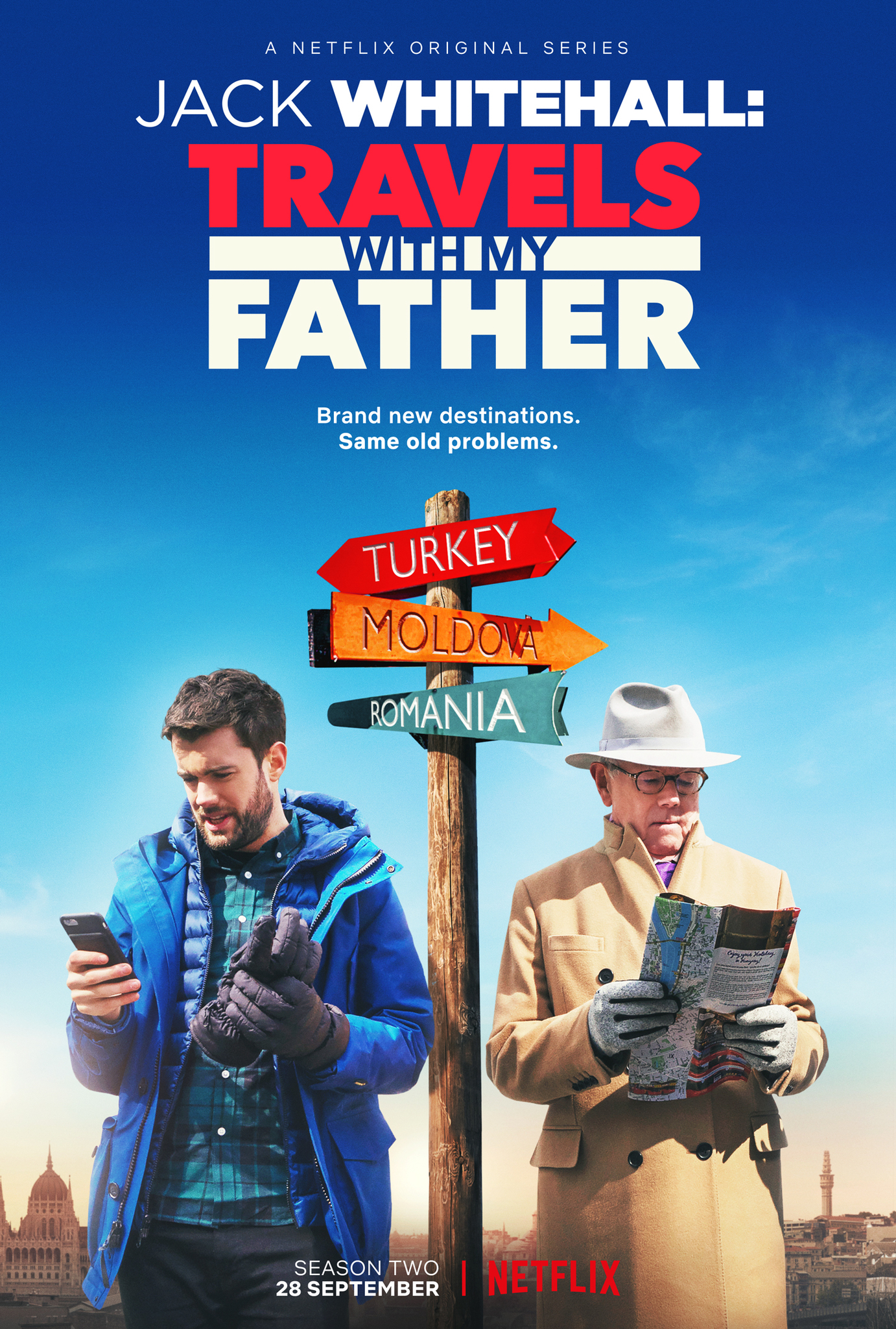 Jack Whitehall: Travels with My Father - Follow Jack Whitehall and his father as they take a gap year to South East Asia and the many wild adventures and mishaps they experience along the way. Laughs will ensue.