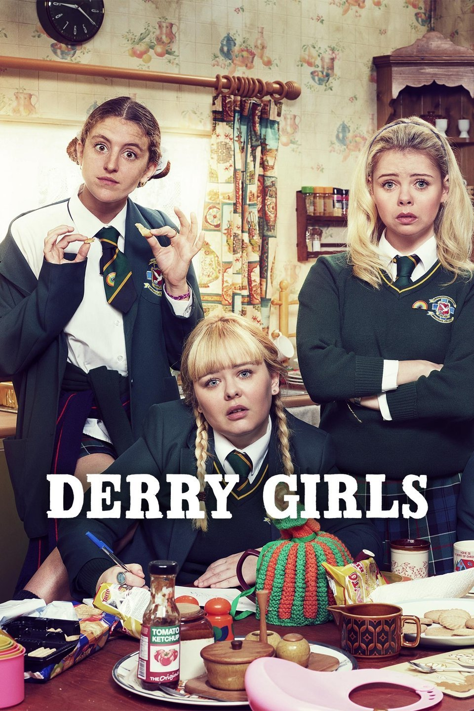 Derry Girls - Another HILARIOUS show following five Irish-catholic high schoolers navigating a civil war and adolescence in the 80's. This show is probably my favourite thing on Netflix at the moment (I've watched it twice already). It's crass yet incredibly endearing. You may need the subtitles if your Irish isn't quite up to speed, but OH MY, is it ever funny.