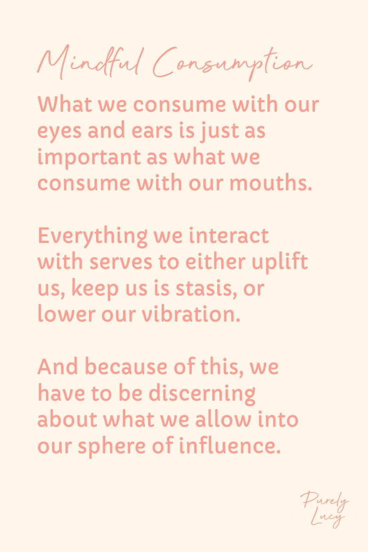 Mindful Consumption || www.purelylucy.co