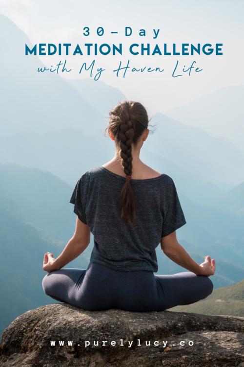 30-Day Meditation Challenge!