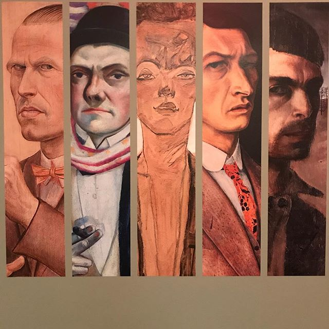 Self-Portraits: Schiele to Beckmann show at Neue Gallery  a lot of great artists- Kathe Kollwitz, Otto Dix, Egon Schiele, Max Beckmann.