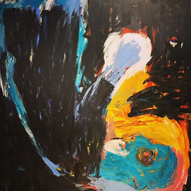 Saw this Painting by Baselitz at the Met the other day- hadn't seen one in awhile. Really like it.