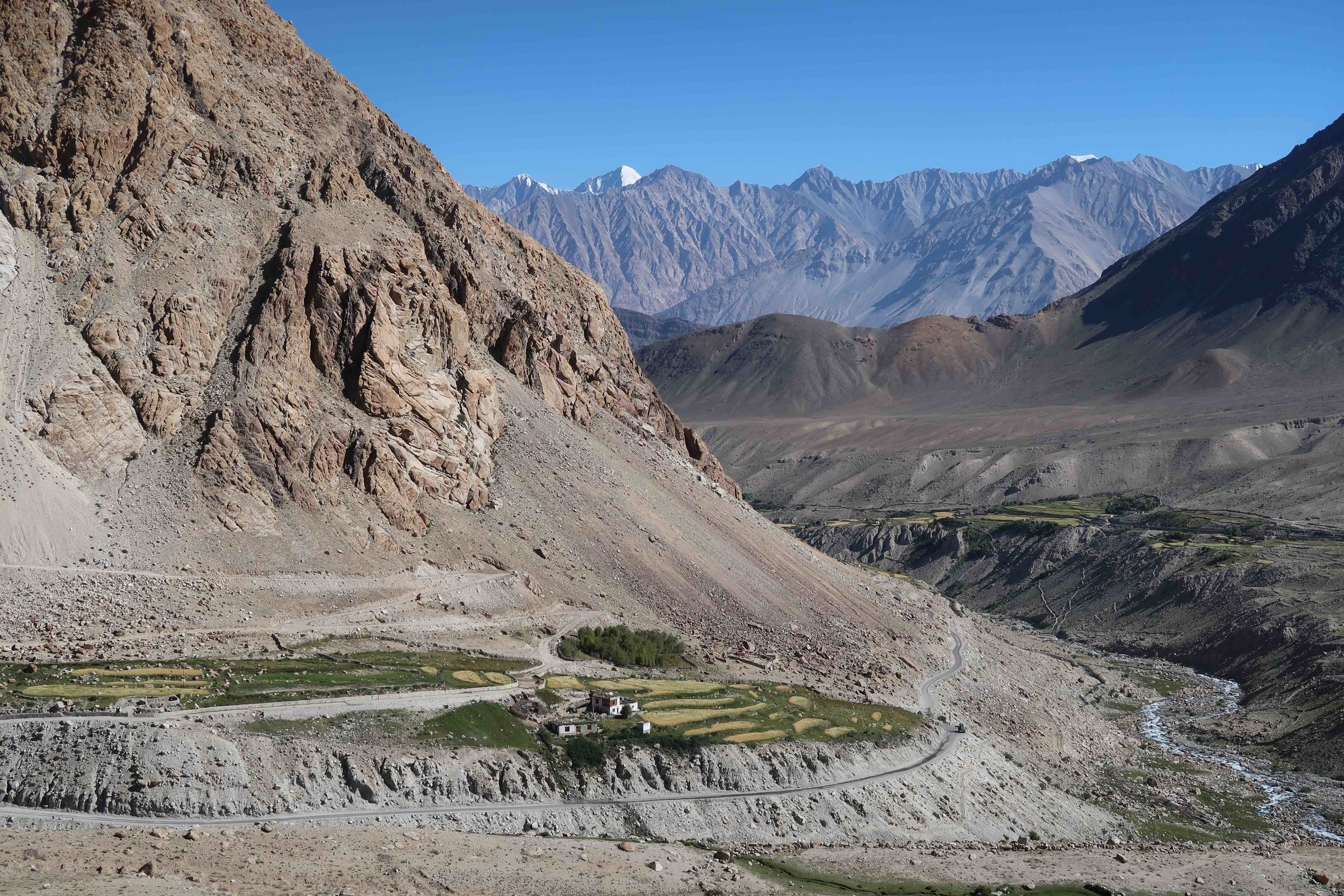 Nubra Valley in Ladakh - India. Stunning scenery on a Grand-Canyon scale!