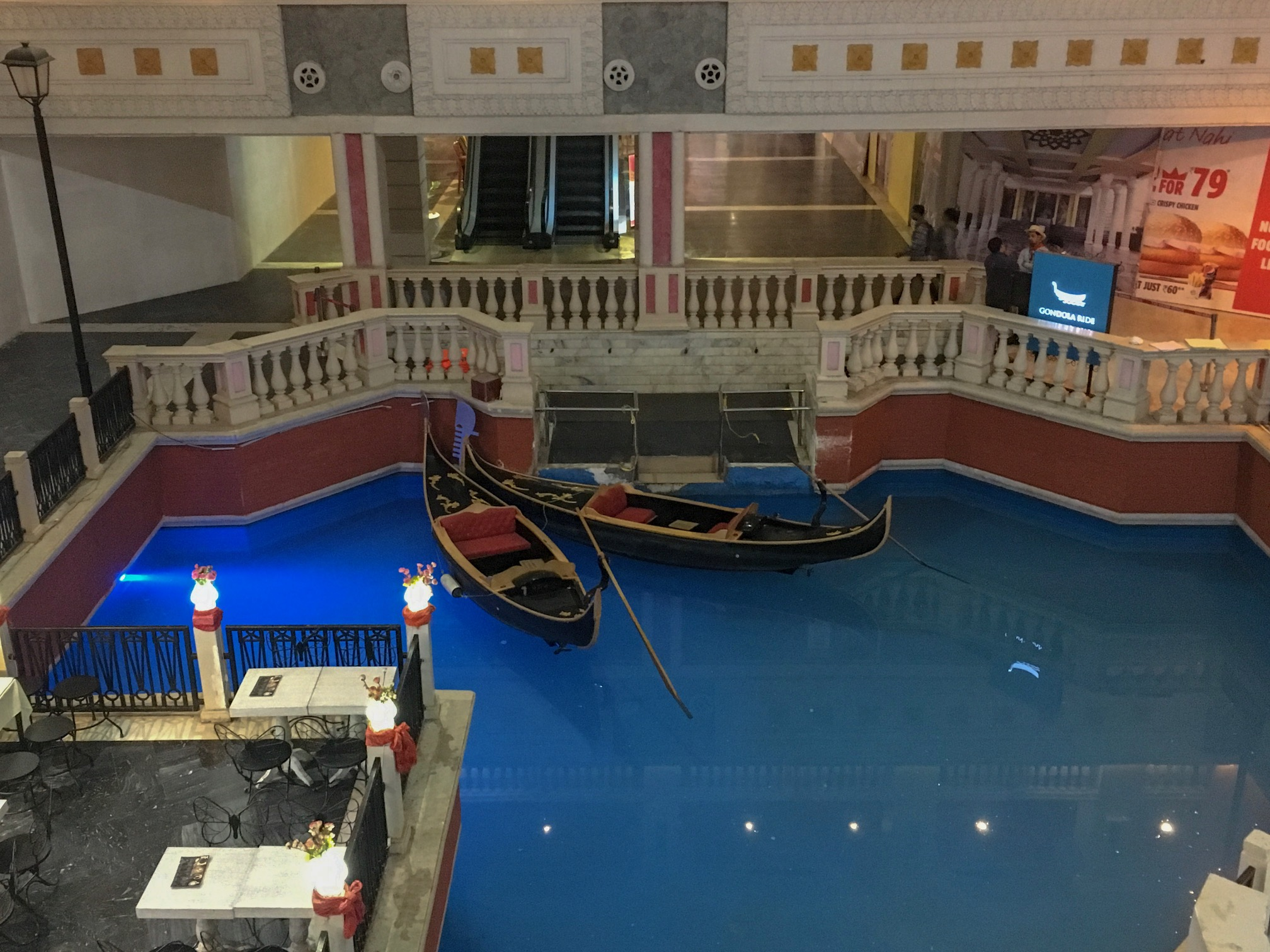 Float around in a gondolas in the Grand Venice Mall in Delhi! Have a fire paan in Delhi! Or try one of these other unusual things to do in Delhi..