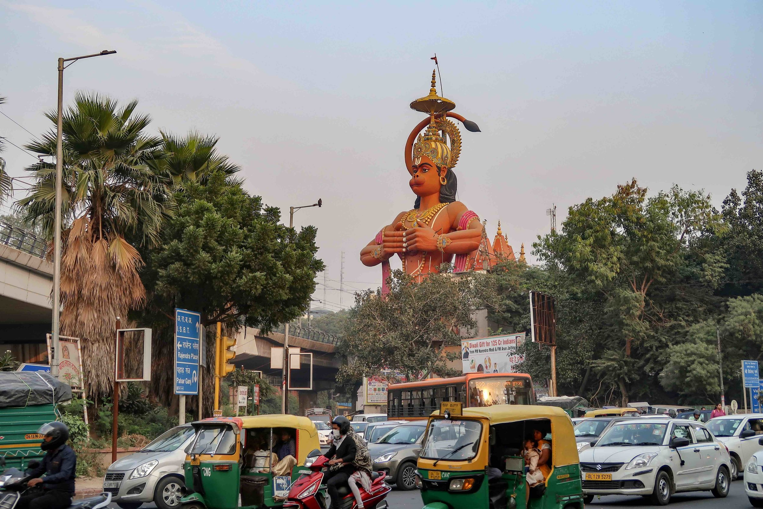 Step inside a monster's mouth in this Hanuman Temple in Delhi. Have a fire paan in Delhi! Or try one of these other unusual things to do in Delhi..