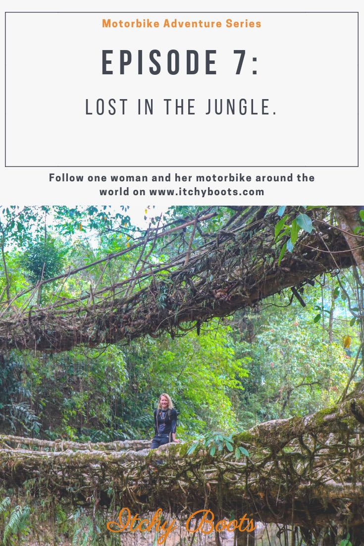 The only dubbel-decker living root bridge in the world! Located close to Cherrapunjee in Meghalaya, India.