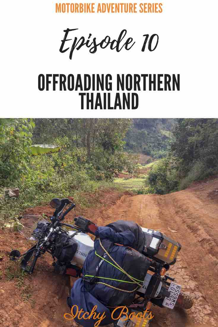 Overlanding Asia : Offroading in Thailand does not always go as planned...