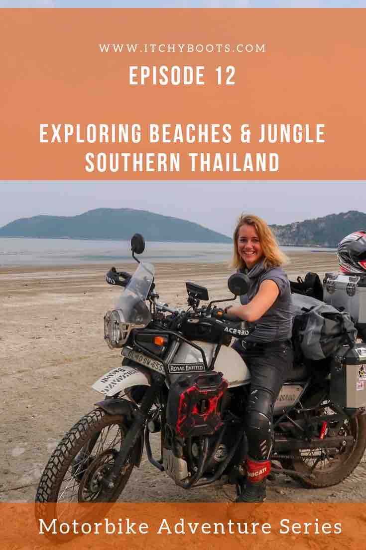 Motorbike Adventure Series - Episode 12 : Exploring Beaches & Jungle - Southern Thailand