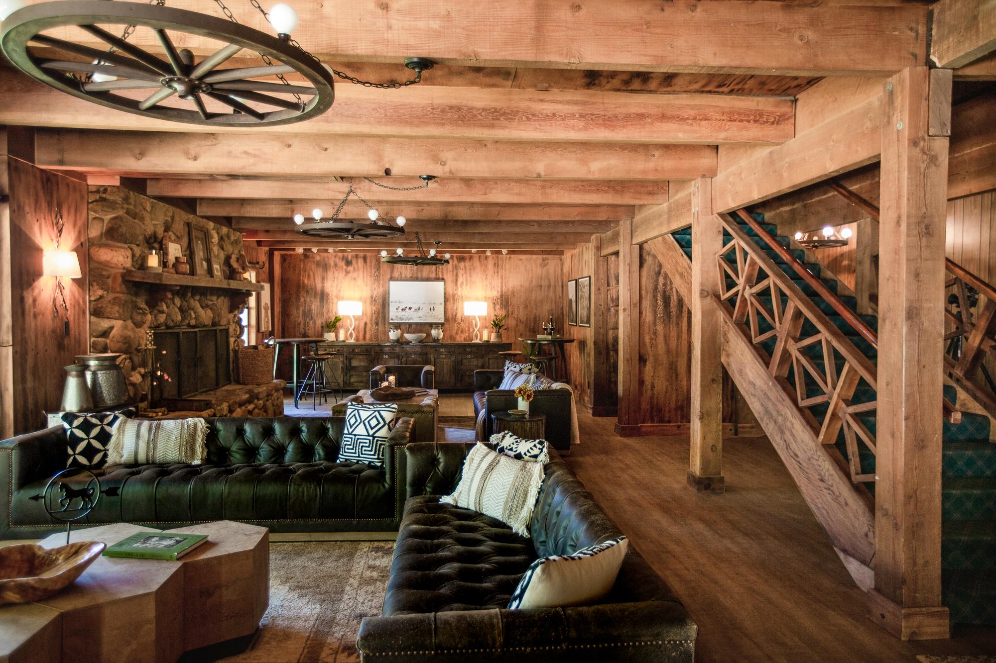 Main Lodge view at Greenhorn Ranch