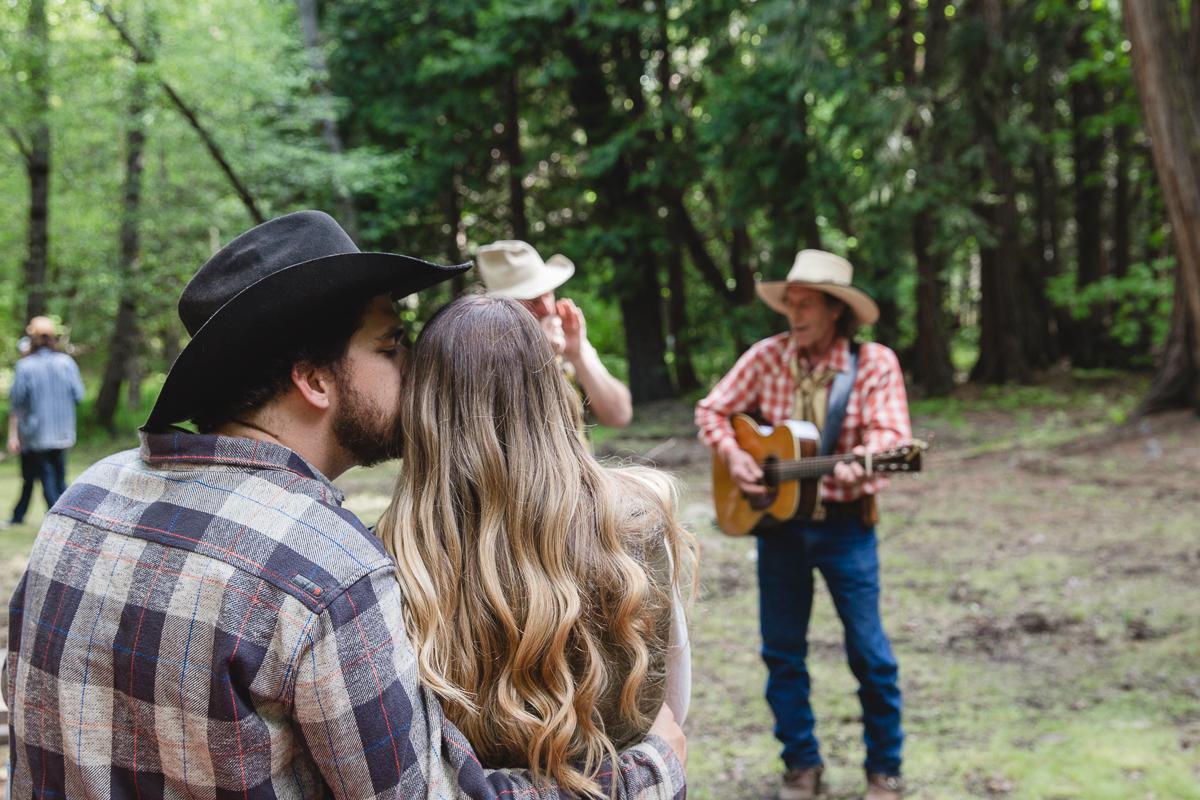 Campfire sing a longs at Greenhorn Ranch