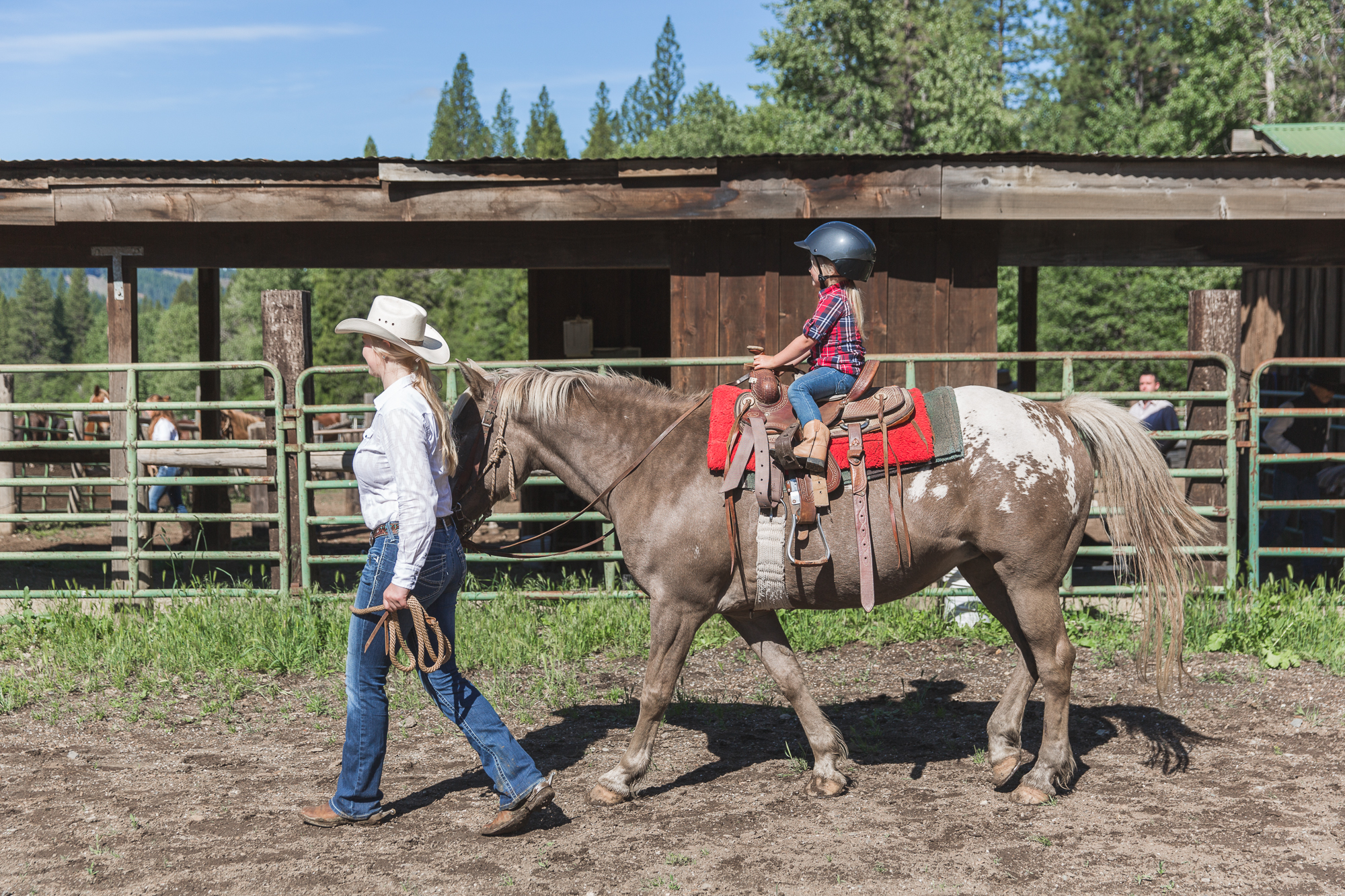 Arena lessons at Greenhorn Ranch
