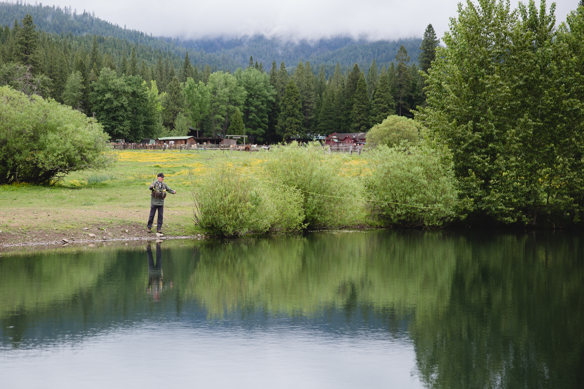 Fly fishing is available to guests of Greenhorn Ranch thanks to our Orvis Certified Guide