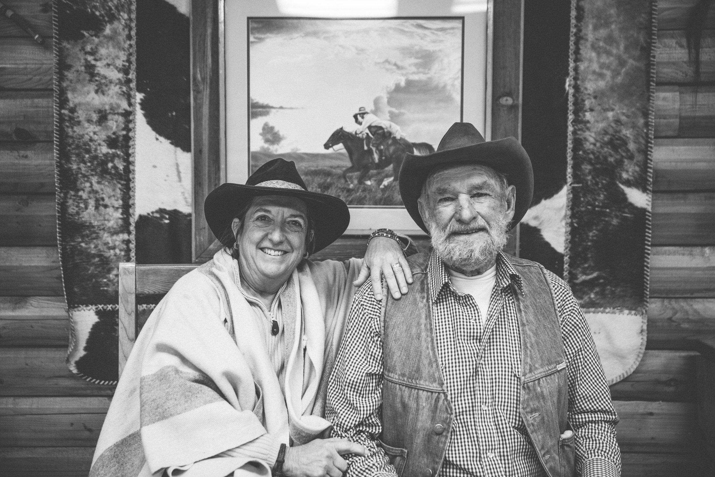 Ralph and Trish Wilburn of Greenhorn Ranch Quincy, California