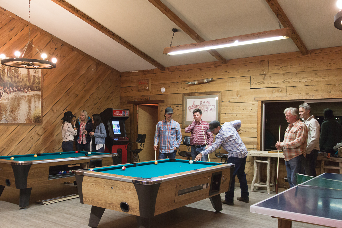 Dude Ranches with game room