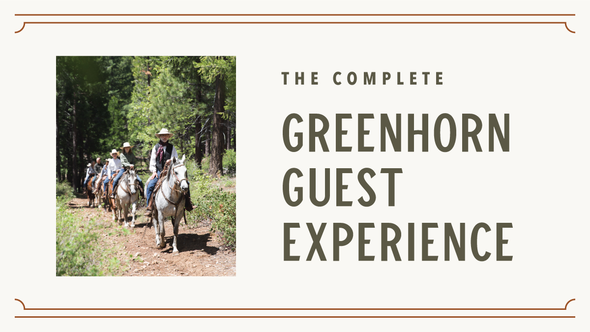 Greenhorn Dude Ranch Vacation package