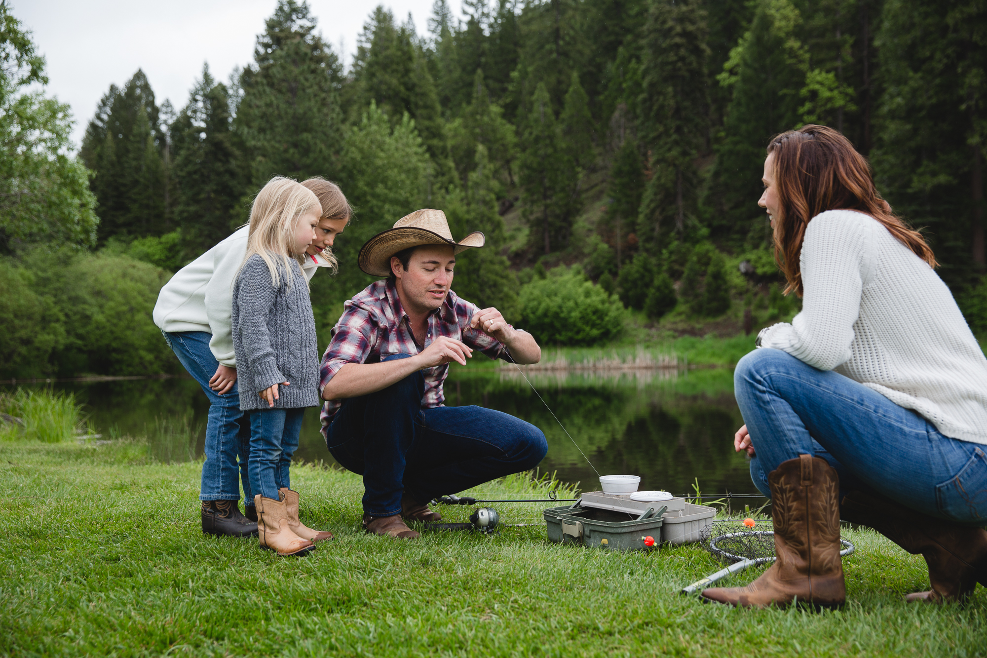 best family fishing vacations at Greenhorn Ranch