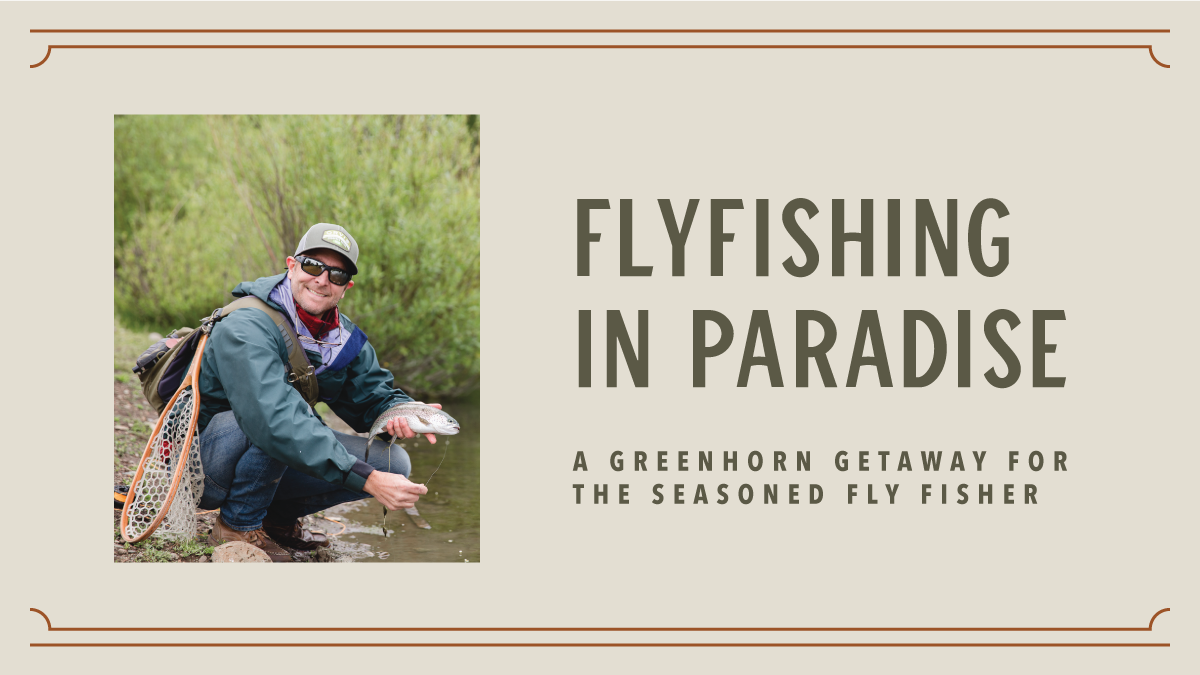 Fly Fishing at Greenhorn Ranch Plumas county California
