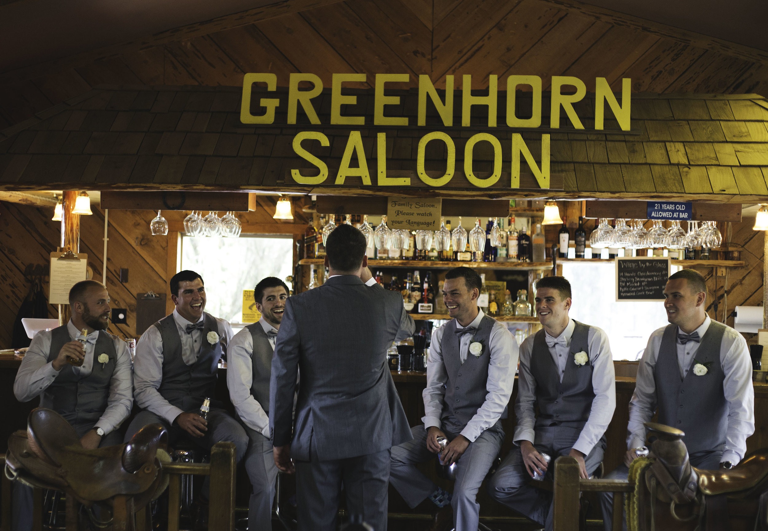 Greenhorn Saloon Wedding Reception