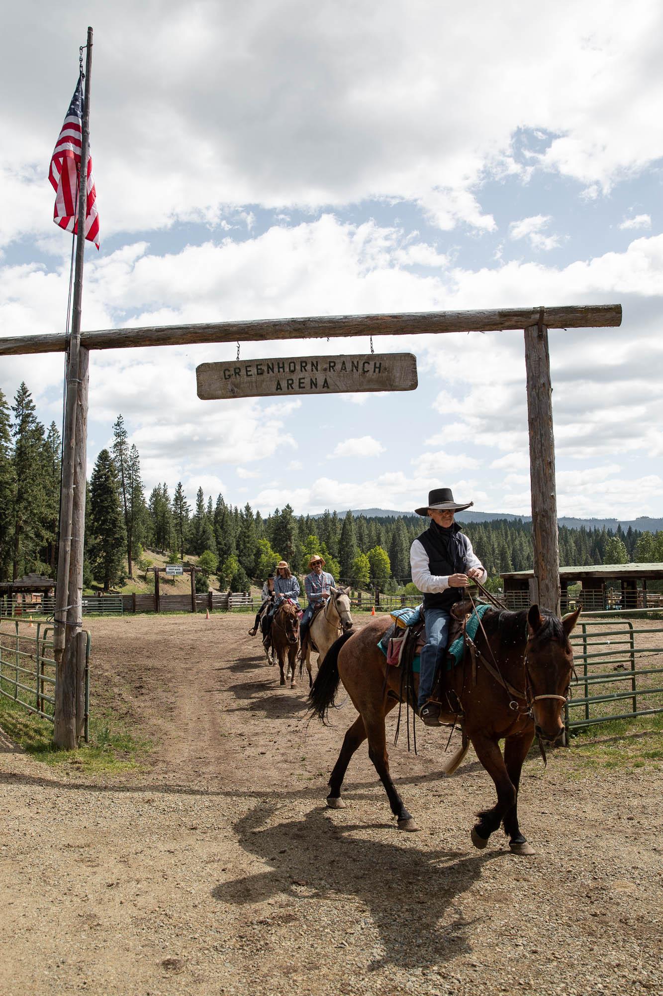 Horseback Riding on a Family Ranch Vacation
