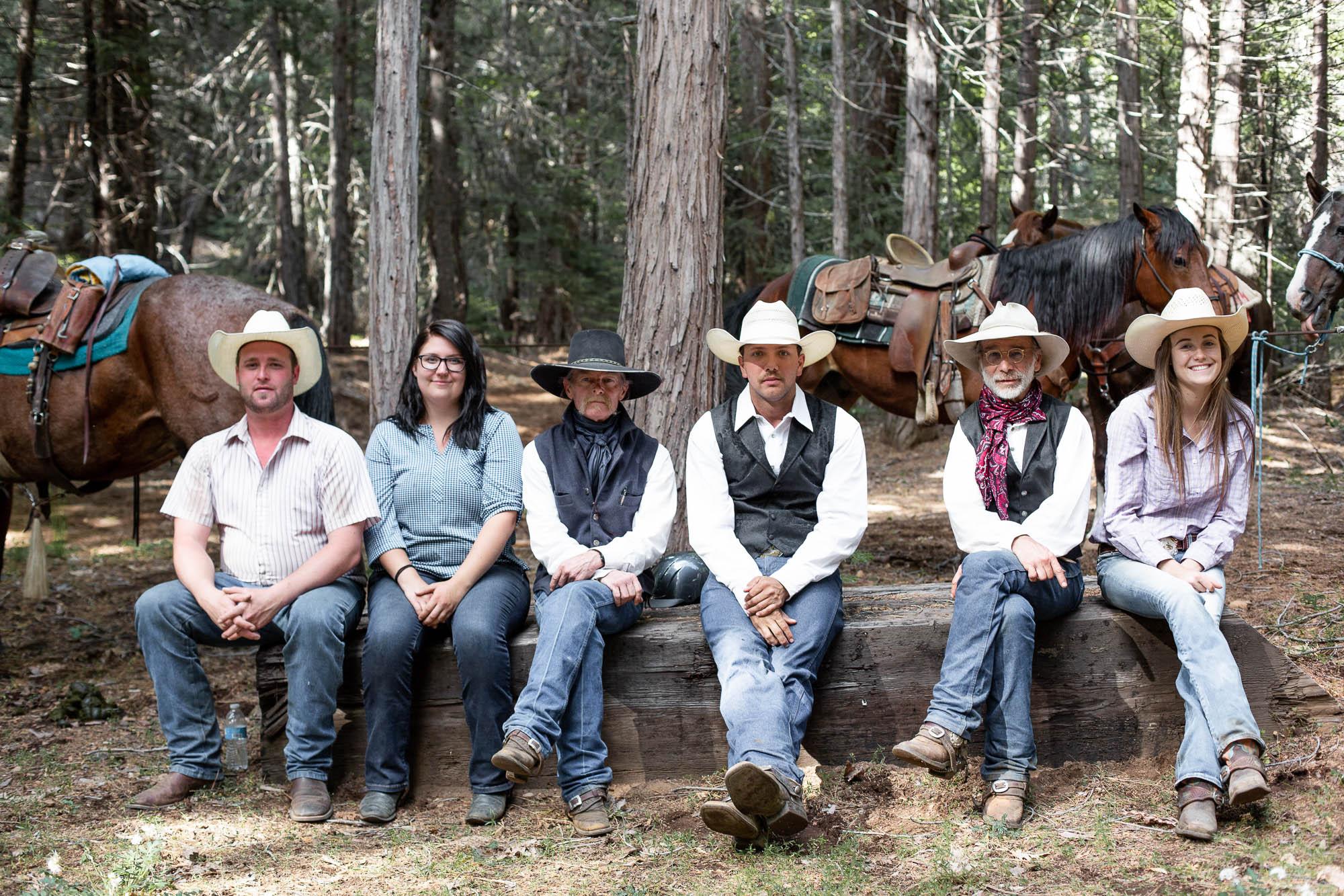Greenhorn Ranch Wranglers help beginner riders