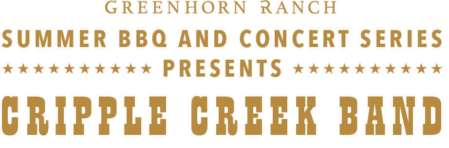Cripple Creek Band Concert event at Greenhorn Ranch