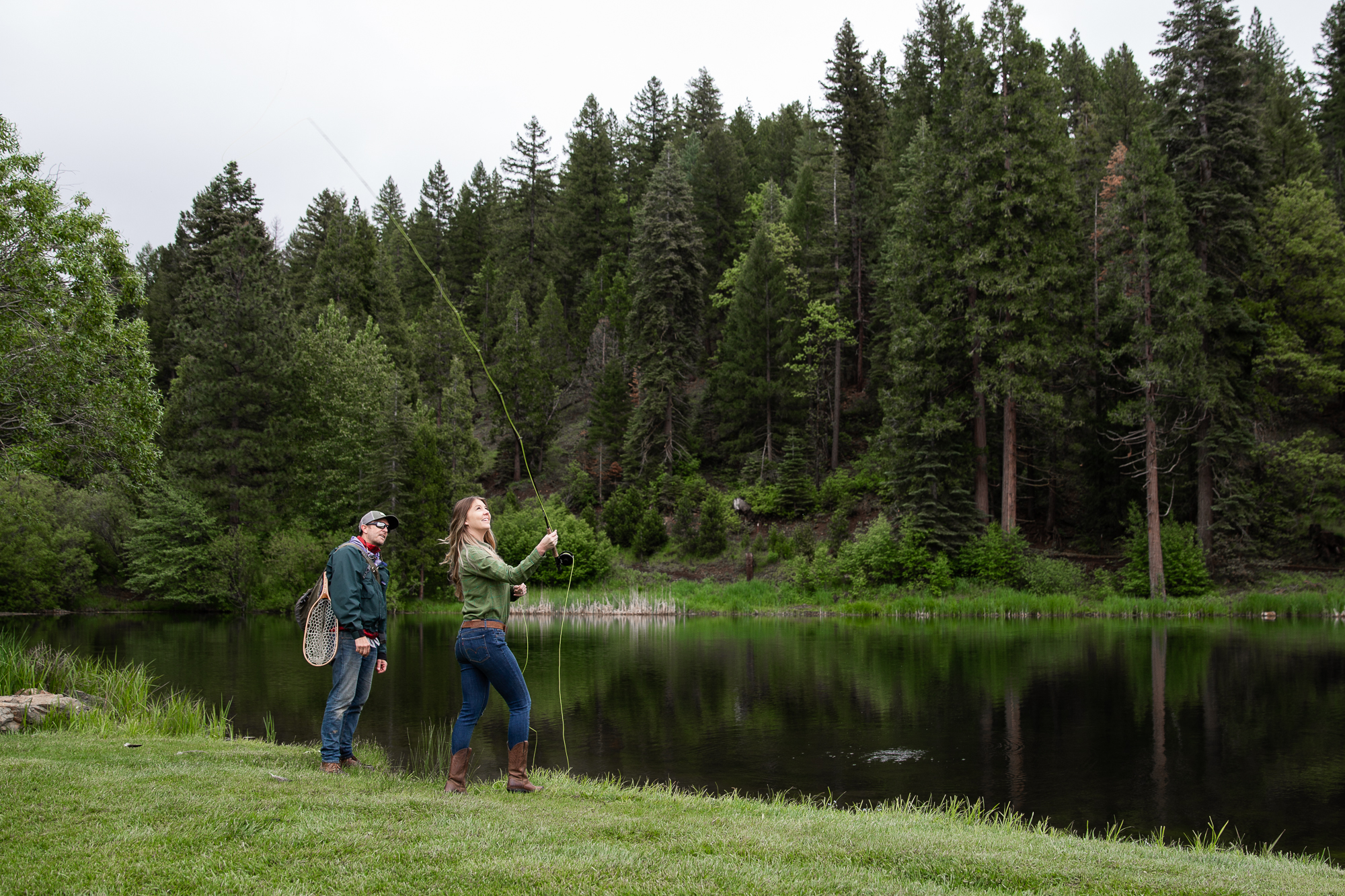 Greenhorn Ranch fly fishing