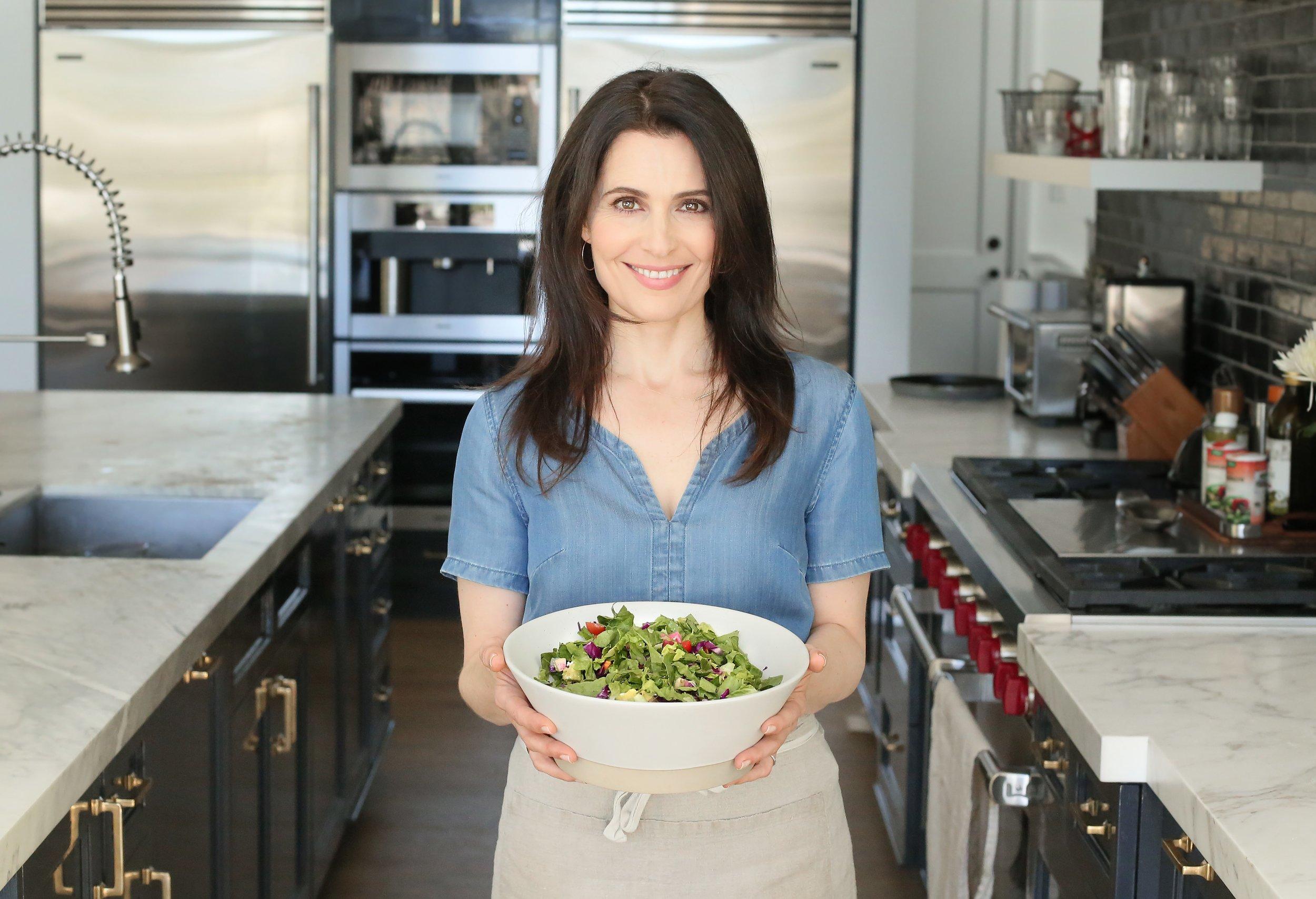 "Pamela Salzman, Author ""Kitchen Matters"" and ""Wellness Chef"""
