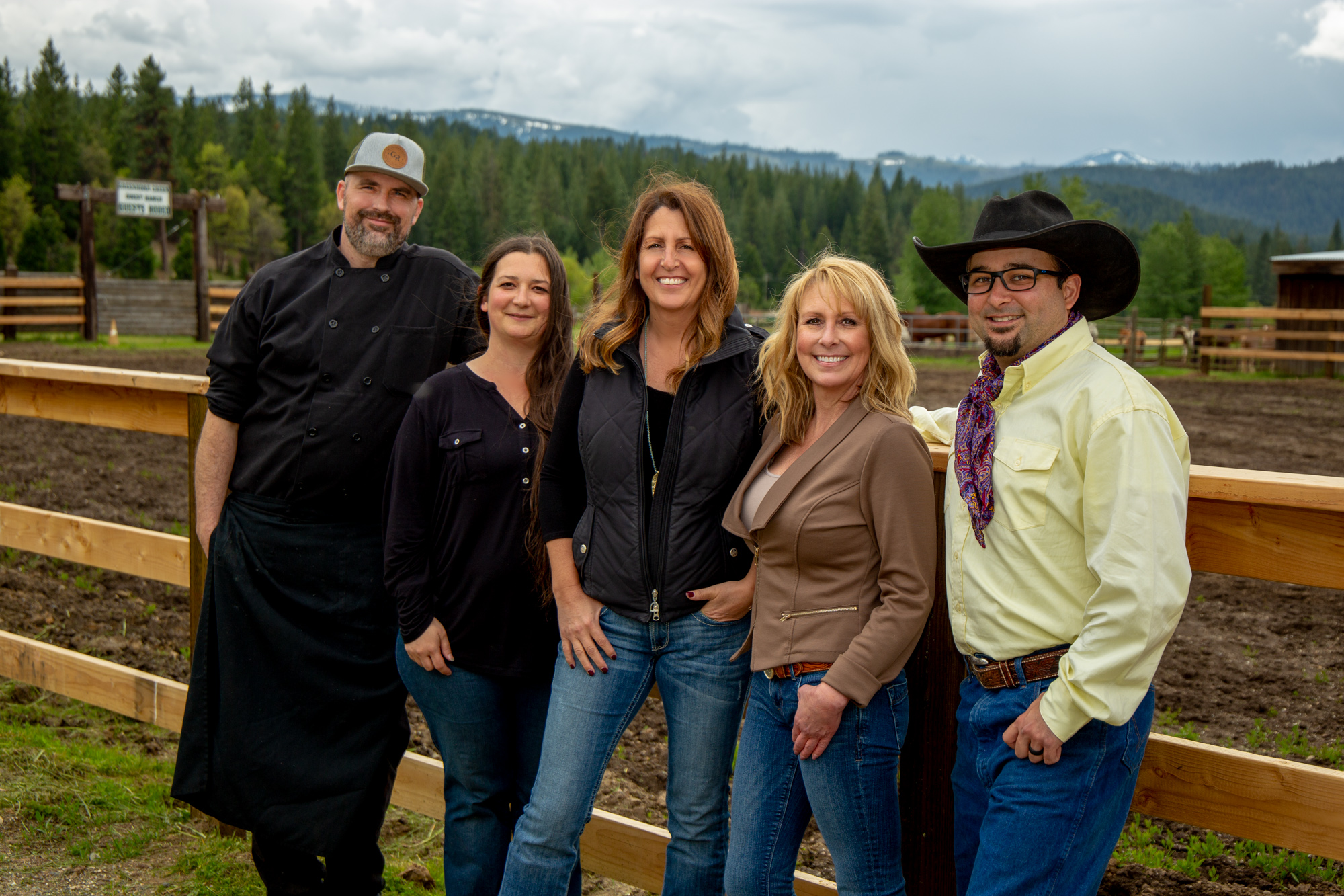Meet our team ready to make your stay at Greenhorn Ranch unforgettable