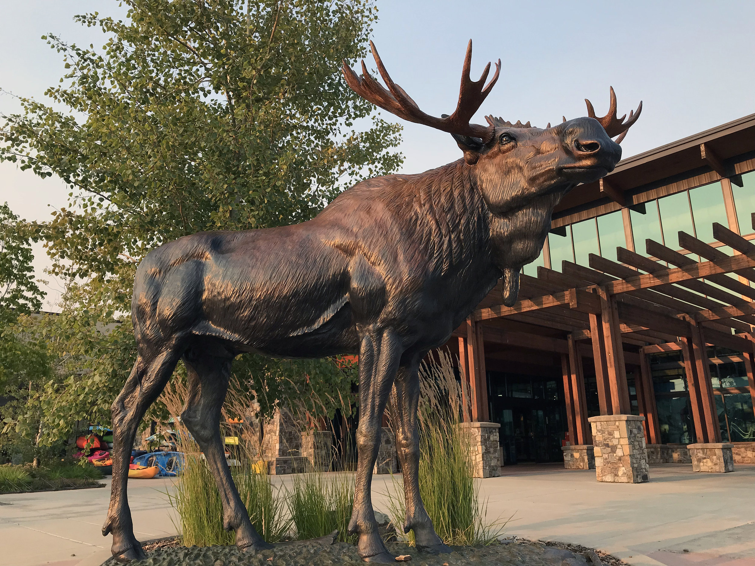 Moose Monument by Robert Tate