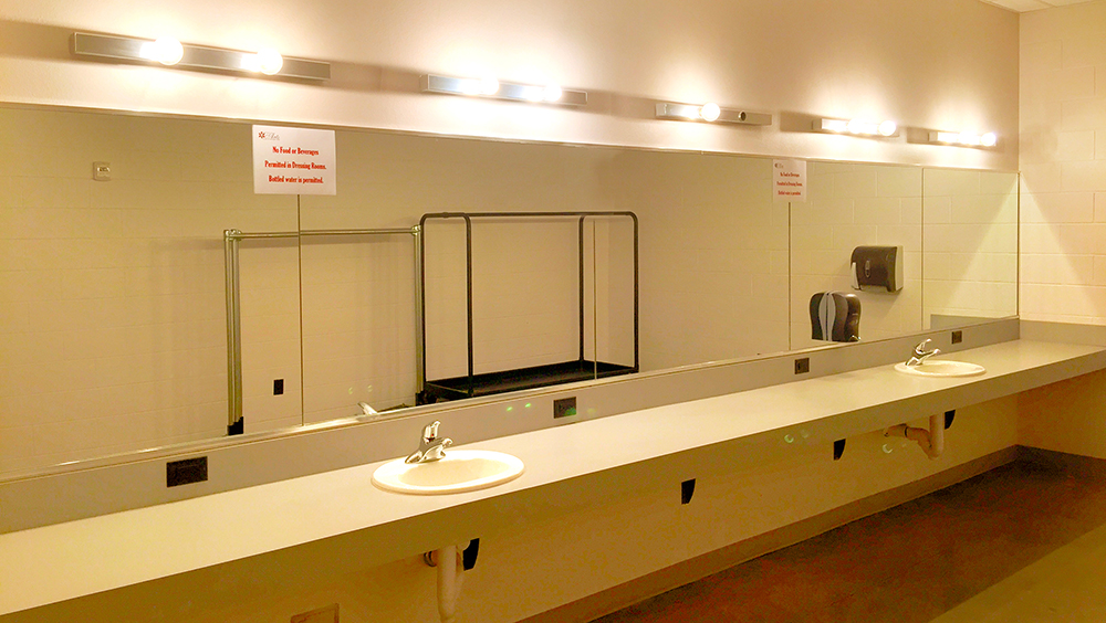 Both male and female dressing rooms are available to accommodate performers and talent. Each room features full electrical, ClearCom communication, live stage monitoring via LED TV's, and Z-racks provided upon request.