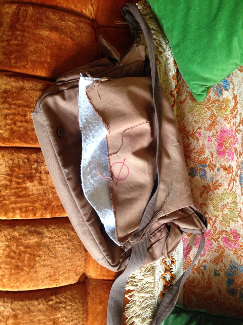 RIP the magic bag that I carried for half a decade. Your replacement is far mor magical, for it was bought with love.