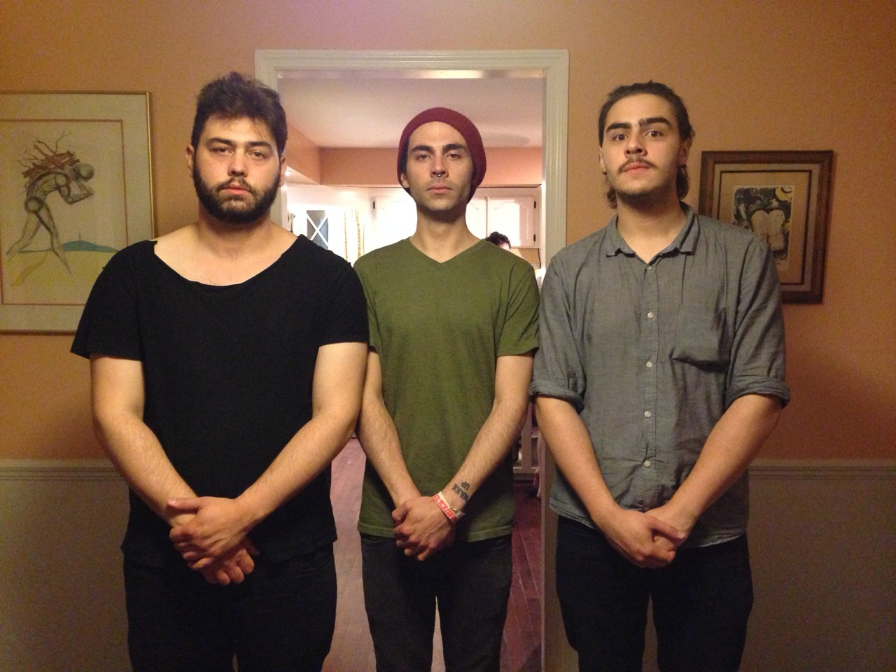 Three brothers together for one last night in the house they grew up in.