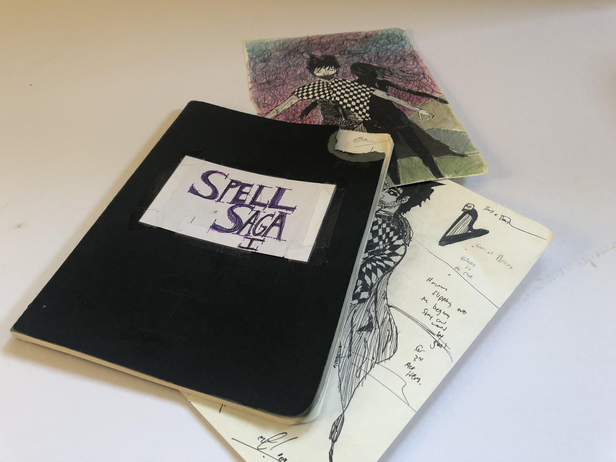 2009 Spell Saga design journal